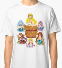 She-Ra Princess of Power - Girls of The Great Rebellion - Color Classic T-Shirt