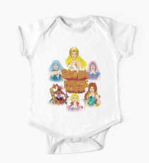 She-Ra Princess of Power - Girls of The Great Rebellion - Color Baby Body Kurzarm