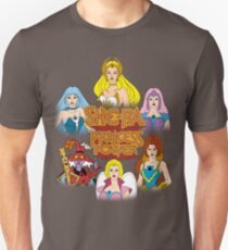 She-Ra Princess of Power - Girls of The Great Rebellion - Color Slim Fit T-Shirt