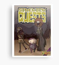 Sidekick Quests Walking Dead Print Metal Print
