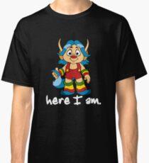 She-Ra Princess of Power - Loo Kee - Here I Am - White Font Classic T-Shirt