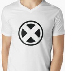 X- People Men's V-Neck T-Shirt