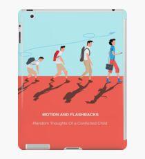 MOTION IN FASHBACKS  iPad Case/Skin