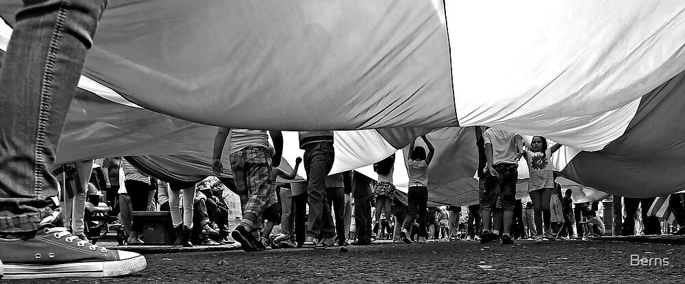 A World Beneath one Flag .. by Berns