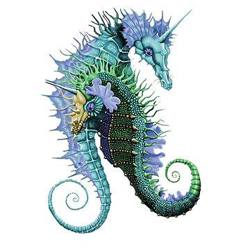 Mythical SeaHorse  by xX0oCaRnAgEo0Xx