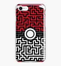 Pokeball Maze iPhone Case/Skin