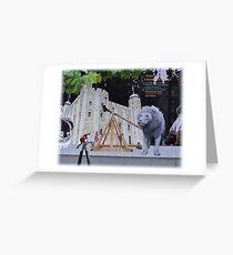 Torre    Blanca de Londres.       Toda una experiencia........ Greeting Card