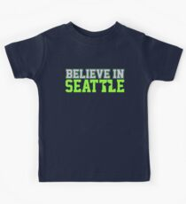 """VICTRS """"Believe In Seattle"""" Kids Clothes"""