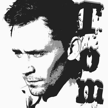 Tom Hiddleston by thegadzooks