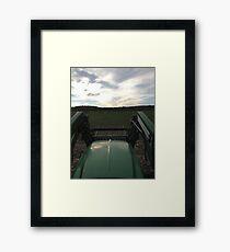 Life on the prairie Framed Print