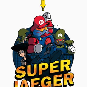 Super Jaeger Bros by isummers