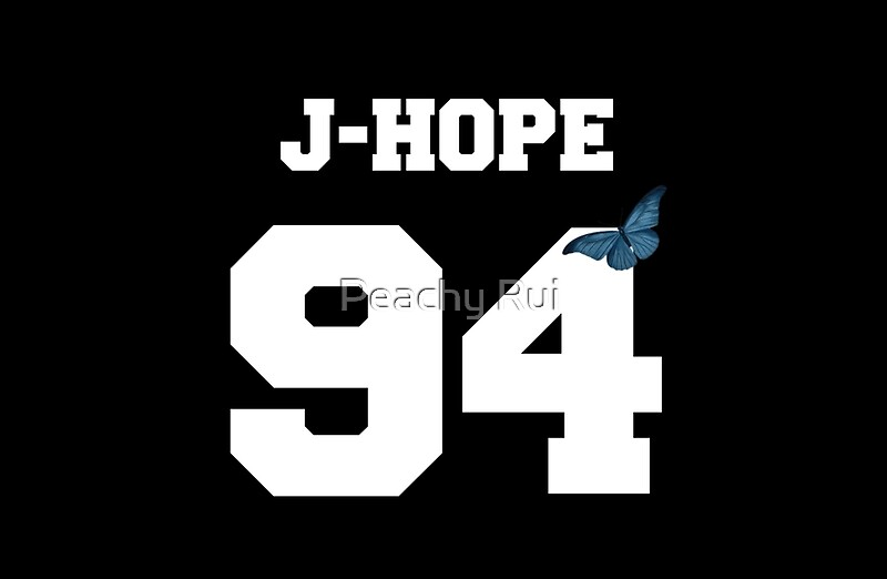 Quot Bts J Hope 94 Line Butterfly Jersey Quot Laptop Skins By