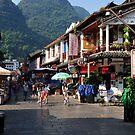 Beautiful Little Town Of Yangshuo, China. by Ralph de Zilva