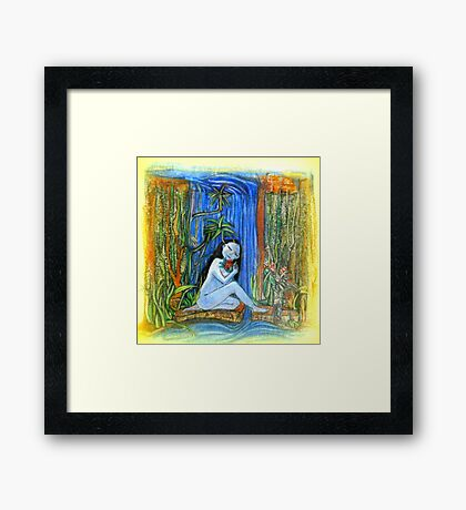 Island Girl Framed Print