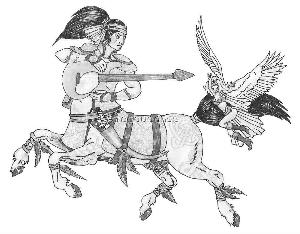 Heavy Metal Mythology by redqueenself