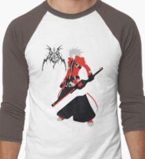 Camiseta ¾ bicolor para hombre Ragna el Bloodedge