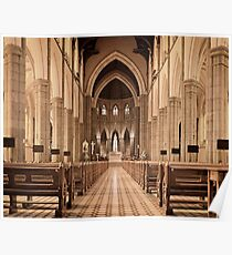 St. Patricks Cathedral, Melbourne Poster