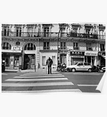 Crossing St Germaine - Paris, France Poster