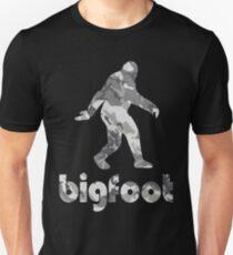 Bigfoot Urban Snow Camouflage Unisex T-Shirt