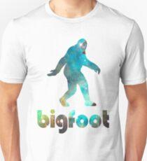 Bigfoot Galaxy Unisex T-Shirt