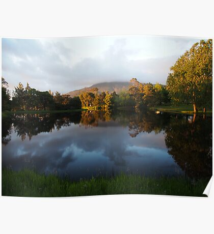 Morning in Paradise Poster