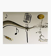 SOLD - SING ME AN OLD FASHIONED SONG! Photographic Print
