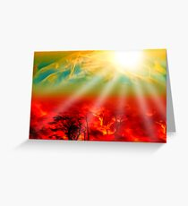 Hell on Earth Greeting Card