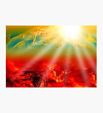 Hell on Earth Photographic Print