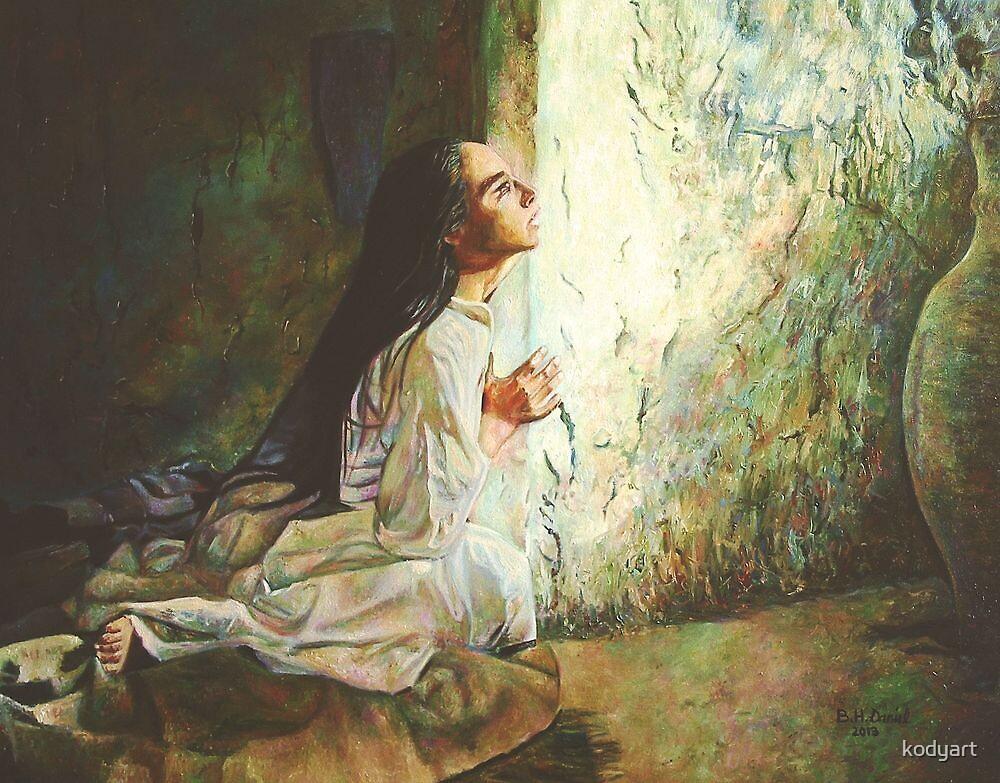 Annunciation by kodyart