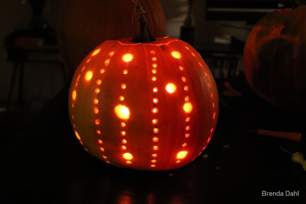 My Pumpkin this year by Brenda Dahl