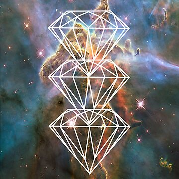 White Diamond Nebula by sblade7