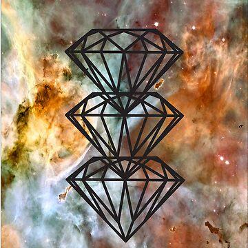 Black Diamond Nebula by sblade7