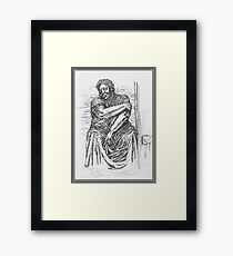 Rural Woman Framed Print