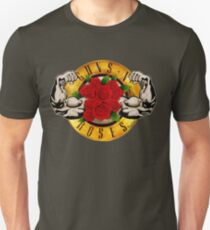 Muscles and Roses Slim Fit T-Shirt