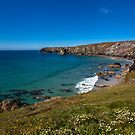 Looking towards Predannack Head by Stuart  Gennery