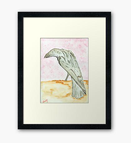 The Raven…Nevermore Framed Print