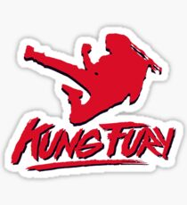 Kung Fury T-Shirt Sticker