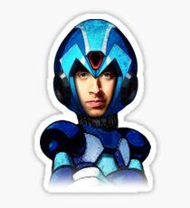 Megaman wolowitz Sticker
