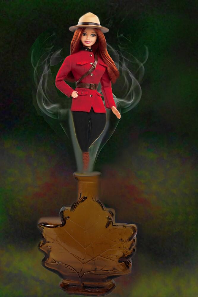 █ ♥ █ GENIE ~MAPLE LEAF ~ROYAL CANADIAN MOUNTED POLICE PICTURE/CARD █ ♥ █  by ✿✿ Bonita ✿✿ ђєℓℓσ