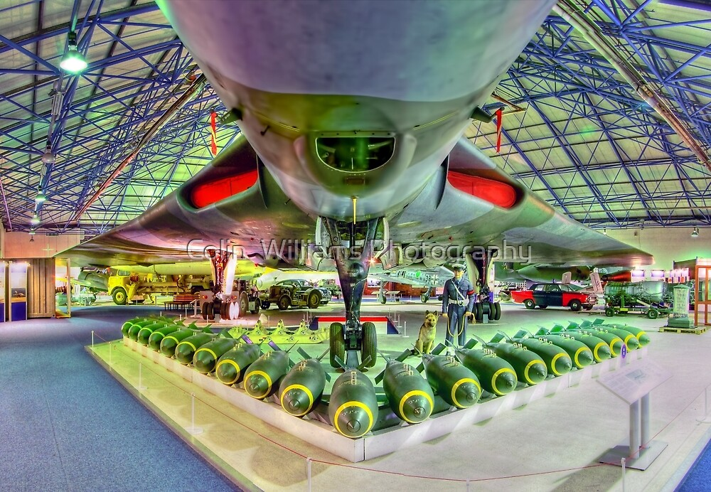 Vulcan and Bombs - R.A.F. Museum Hendon - HDR by Colin  Williams Photography