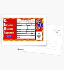 The KERI card Postcards