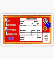 The KERI card Sticker