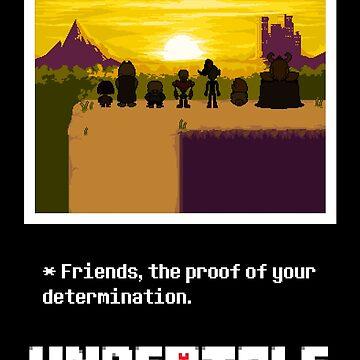 Undertale Friends by Javichakalote