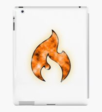 Firestarter - Orange iPad Case/Skin