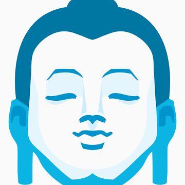 Calming Buddha by GoldMedia