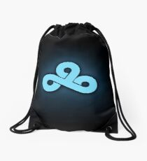 Cloud 9 Team Logo High Res Drawstring Bag