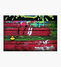 Graffiti SplashDown Photographic Print