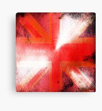 God save the Union Jack Canvas Print