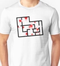 "Hotline Miami Level 01 ""No Talk"" (Black) T-Shirt"