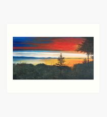 Whidbey Island Art Print